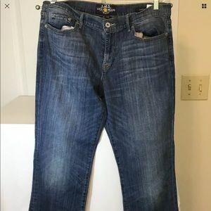 Lucky Brand jeans sweet and lowSize 16/33